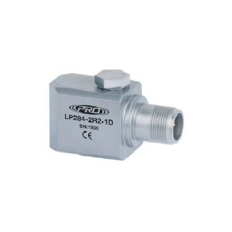 LP284 loop power rezgéssebesség érzékelő és távadó: 4-20 mA, oldalsó kivezetésű M8-as átmenő csavarral