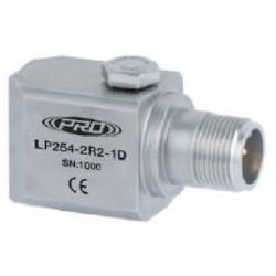 LP254 alacsony árfekvésű, loop power rezgéssebesség érzékelő és távadó: 4-20 mA, oldalsó kivezetésű