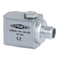 LP254-M12D alacsony árfekvésű, loop power rezgéssebesség érzékelő és távadó: 4-20 mA, oldalsó kivezetésű M12-es csatlakozó