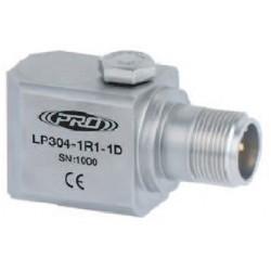 LP304 loop power rezgésgyorsulás érzékelő és távadó: 4-20 mA, oldalsó kivezetésű