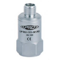 LP352-M12D alacsony árfekvésű, loop power rezgésgyorsulás érzékelő és távadó: 4-20 mA, felső kivezetésű M12-es csatlakozó