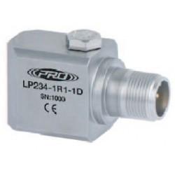 LP234 loop power hőmérséklet, rezgéssebesség érzékelő és távadó: 4-20 mA és 10 mV/°C kimenetű, oldalsó kivezetésű