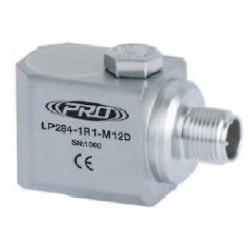 LP284-M12D loop power rezgéssebesség érzékelő és távadó: 4-20 mA, oldalsó kivezetésű M8-as átmenő csavarral