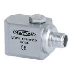LP354-M12D alacsony árfekvésű, loop power rezgésgyorsulás érzékelő és távadó: 4-20 mA, oldalsó kivezetésű M12-es csatlakozó