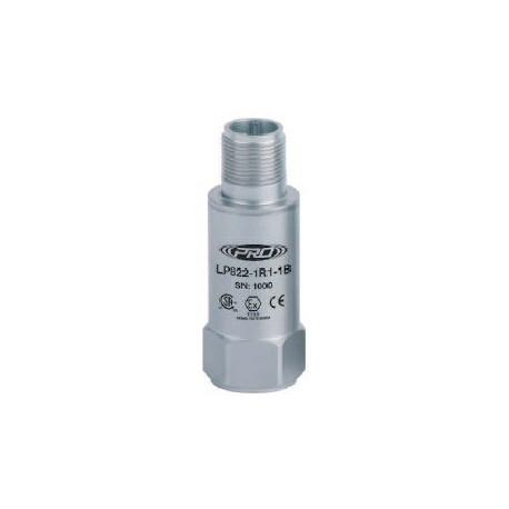 LP822 Class I besorolású, loop power rezgéssebesség érzékelő és távadó: 4-20 mA, ív és szikra mentes, felső kivezetésű