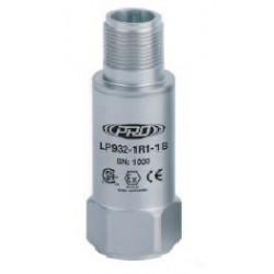 LP932 Class I besorolású, loop power rezgésgyorsulás érzékelő és távadó: 4-20 mA, ív és szikra mentes, felső kivezetésű