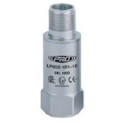LP902 gyújtószikramentes, loop power rezgésgyorsulás érzékelő és távadó: 4-20 mA, felső kivezetésű