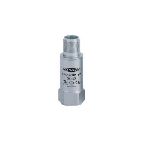 LP912 alacsony kapacitású, gyújtószikramentes, loop power rezgésgyorsulás érzékelő és távadó: 4-20 mA, felső kivezetésű