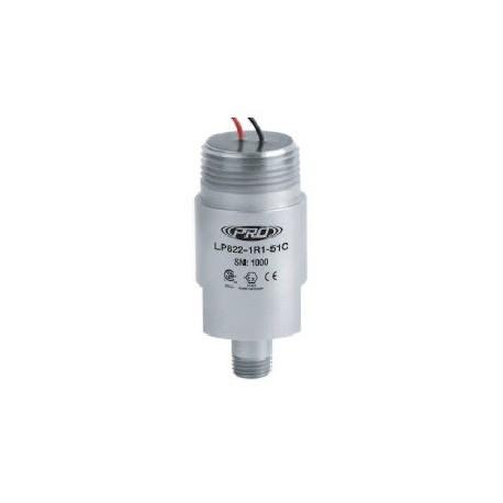 LP822-5XC Class I besorolású, loop power rezgéssebesség érzékelő és távadó: 4-20 mA, ív és szikra mentes, szabad vezetékér