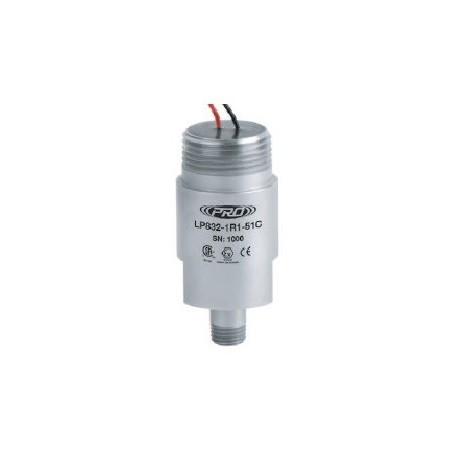 LP832-5XC Class I besorolású, loop power rezgéssebesség érzékelő és távadó: 4-20 mA, ív és szikra mentes, szabad vezetékér