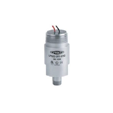 LP922-5XC Class I besorolású, loop power rezgésgyorsulás érzékelő és távadó: 4-20 mA, ív és szikra mentes, szabad vezetékér