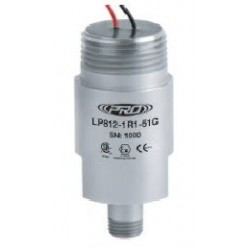LP812-5XC Low Capacitance, Intrinsically Safe Loop Power Sensor, Velocity, 4-20 mA, Top Exit Flying Leads