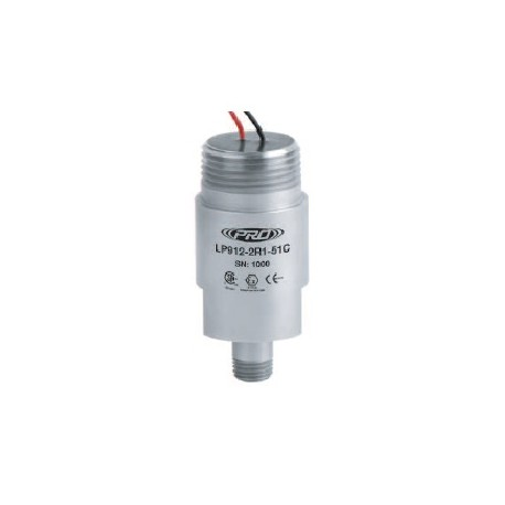 LP912-5XC alacsony kapacitású, gyújtószikramentes, loop power rezgésgyorsulás érzékelő és távadó: 4-20 mA, szabad vezetékér