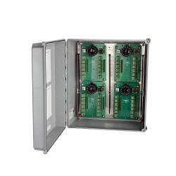 SB102-24-48 Ch 24-48 csatornás kapcsolótábla, üvegszálas gyűjtődoboz