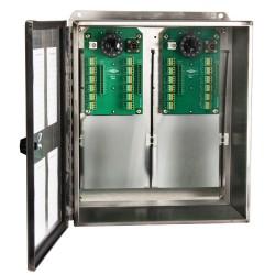 SB202-24-48 Ch24-48 csatornás kapcsolótábla, rozsdamentes acél gyűjtődoboz