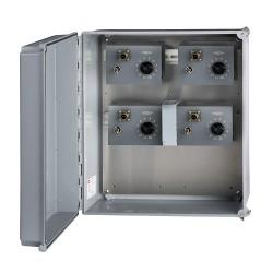 SSB1002 12,24,36 vagy 48 jelbemenetű, 1 kapcsolható jelkimenetű modullal, üvegszálas gyűjtődoboz