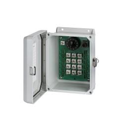 SB152 6-12 Csatornás jelrendező doboz üvegszálas kivitel