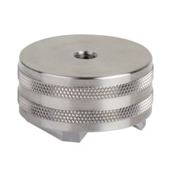 MH147-1A STAINLESS STEEL, M6 MOUNTING HOLE, Ø36 MM, 23 KG PULL STRENGTH