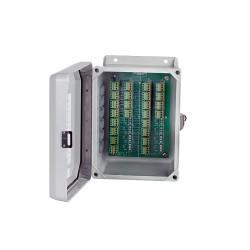 CR102 jelrendező doboz 8, 12 és 16 csatornás