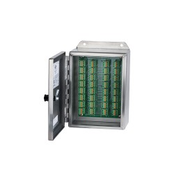 Stainless Steel CR202 Cable Reduction Boxes 8, 12 and 16 Channels