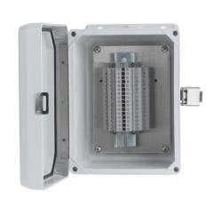 CRHT102 jelendező doboz 12 vagy 16 csatornás hőálló doboz