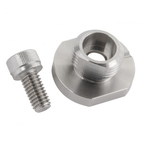 MH107-2B - Quick disconnect stud with through-hole mounting, 1/4-28 socket head cap screw included