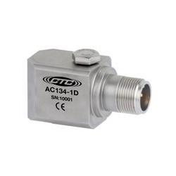 AC134 rezgésgyorsulás érzékelő: általános célú, alacsony frekvenciás, 500 mV/g, oldalsó kivezetésű