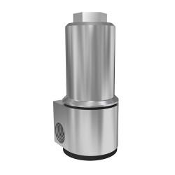 MH152-1A Alumínium szenzor protektor, felülkivezetéses érzékelőkhöz
