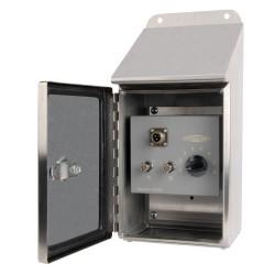 DSB 6000 Rozsdamentes acél dupla kimeneti kapcsoló doboz
