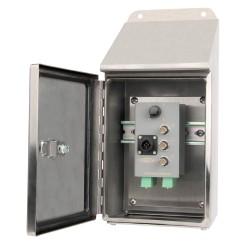 TSB6000 - 12 csatorna - rozsdamentes acéllemezes felső ház