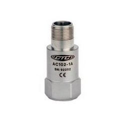 AC102 Multi-Purpose Accelerometer, Top Exit Connector/Cable, 100 mV/g