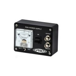 PS01 Egycsatornás akkumulátor tápellátás gyorsulásmérőkhöz és piezo sebesség jelátalakítóhoz