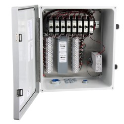 XE150 Fiberglass Enclosures, 1-8 Channel SC200 Series Signal Conditioners