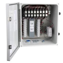 XE150T Üvegszálas házak, 5-8 csatornás SC200 sorozatú jelkondicionálók