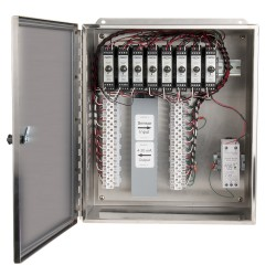 XE250 1-8 Stainless Steel Enclosures, 1-8 Channel SC200 Series Signal Conditioners