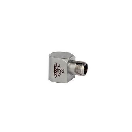 AC116 rezgésgyorsulás érzékelő: 100 mV/g, mágneses rögzítés, oldalsó kivezetés