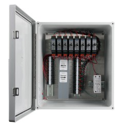 XE350 Fiberglass Enclosures, 1-8 Channel SC200 Series Signal Conditioners