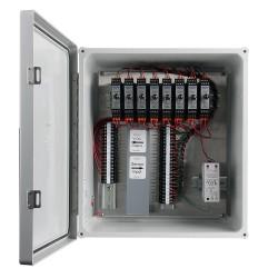 XE350 üvegszálas házak, 1-8 csatornás SC200 sorozatú jelkondicionálók