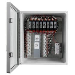 XE350T üvegszálas házak, 1-8 csatornás SC200 sorozatú jelkondicionálók