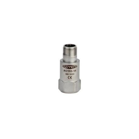 AC150 rezgésgyorsulás érzékelő: 100 mV/g érzékenység, egy irányú, kedvező ár