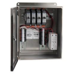 XE450 rozsdamentes acélházak, 1-4 csatornás SC200 sorozatú jelkondicionálók