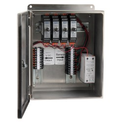 XE450 Stainless Steel Enclosures, 1-4 Channel SC200 Series Signal Conditioners