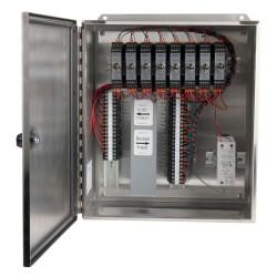 XE450 rozsdamentes acélházak, 1-8 csatornás SC200 sorozatú jelkondicionálók