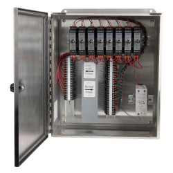 XE450 Stainless Steel Enclosures, 1-8 Channel SC200 Series Signal Conditioners