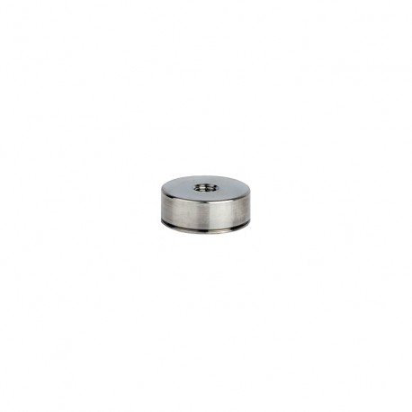 """MH130-6A Mounting disk, 1"""" diam, M6 tapped hole"""