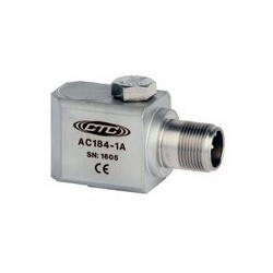 AC184 oldalsó kivezetésű rezgésgyorsulás érzékelő