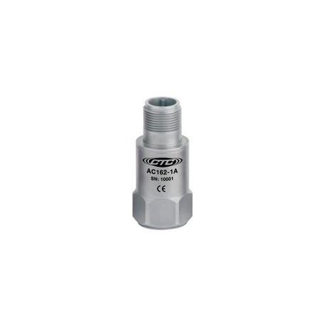 AC162 negatív feszültséggel működő rezgésgyorsulás érzékelő, 25 mV/g, (Bently kompatibilis)