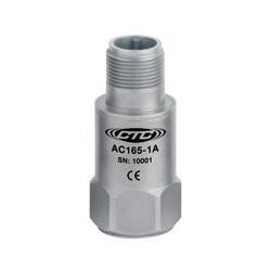 AC165 rezgésgyorsulás érzékelő: 100 mV/g érzékenység, negatív feszültségű, Bently™ kompatibilis