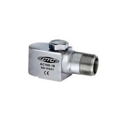 AC198 rezgésgyorsulás érzékelő: 100 mV/g érzékenység, multifunkciós oldalsó kivezetésű, M8-as átmenő csavarral