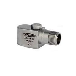 AC294 rezgésgyorsulás érzékelő: 100 mV/g érzékenység oldalsó kivezetésű